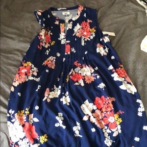 Floral dress from old navy- never worn